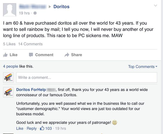 When Bigots Freaked Out About Rainbow Doritos, This Man Had A Brilliant