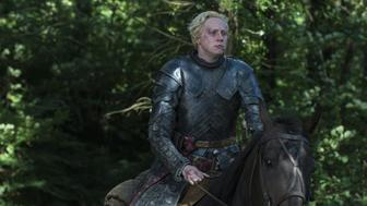 """Gwendoline Christie is most famous for playing fearsome warrior Brienne of Tarth on HBO's """"Game of Thrones."""""""