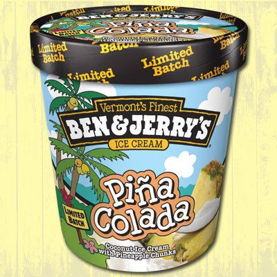 If you like piñacoladas and getting caught in the rain, it'd be wise to eat this flavor indoors, as it's a limit