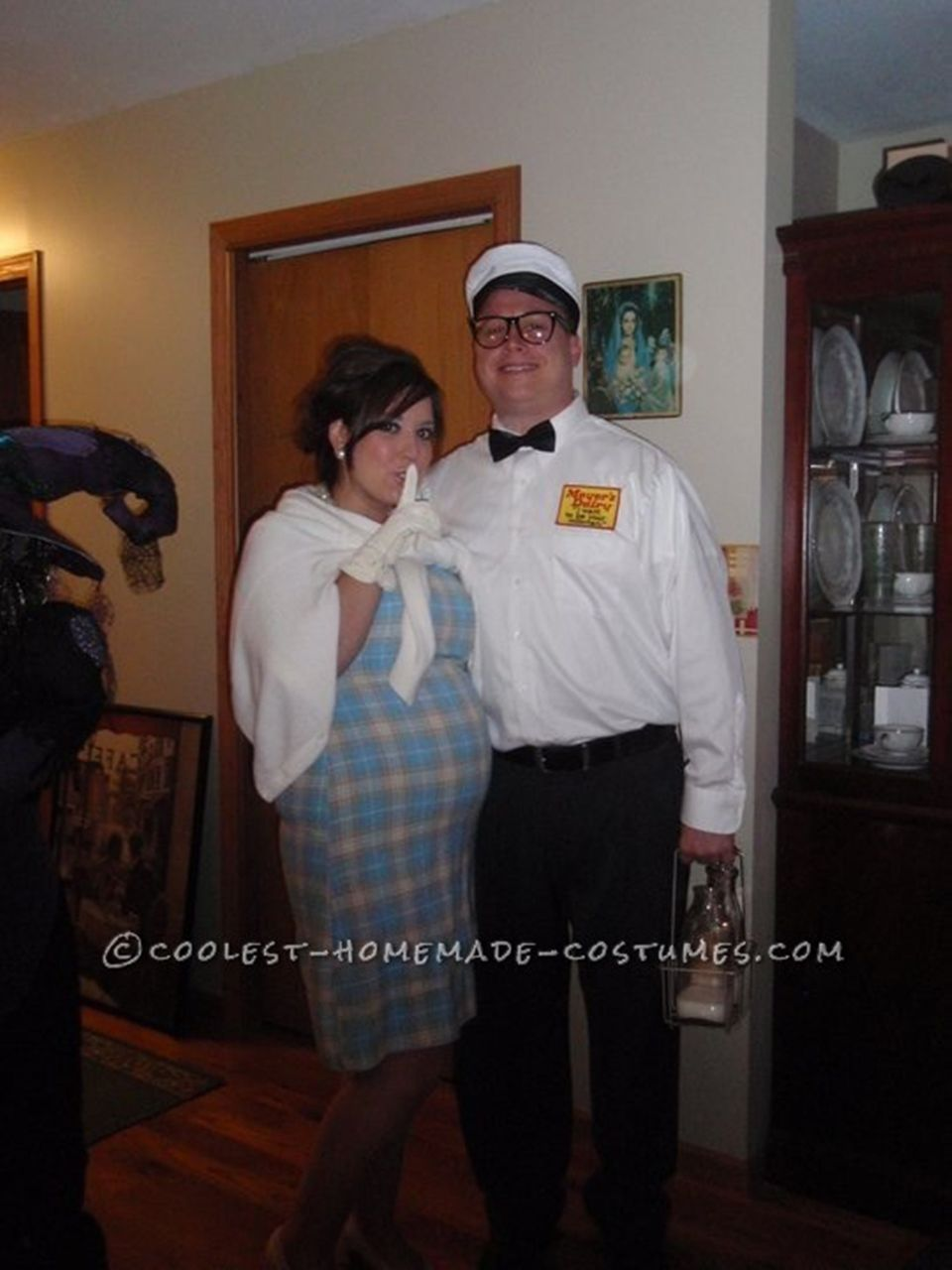 Funny Halloween Costumes For Pregnant Couples.33 Creative Halloween Costumes Just For Pregnant Women Huffpost Life