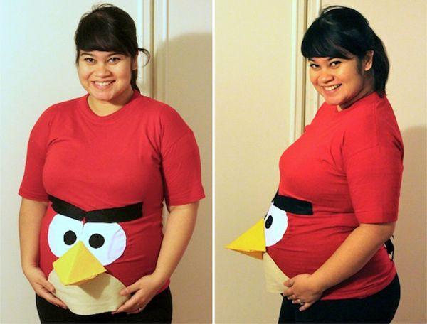 "Via <a href=""http://www.currystrumpet.com/2012/10/maternity-style-halloween-edition.html"" target=""_blank"">Deepa Paul, Curryst"