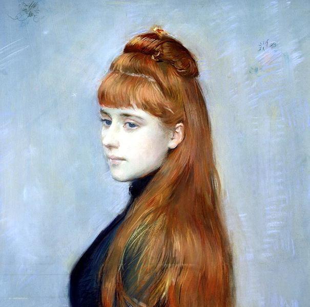in art redheads