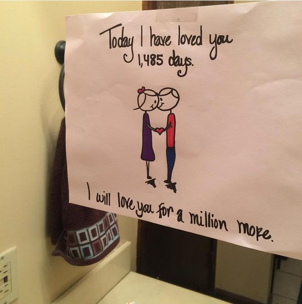 Sweet notes to write your girlfriend