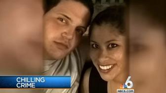 Accused killer Fidel Lopez and his girlfriend Maria Nemeth, now deceased.