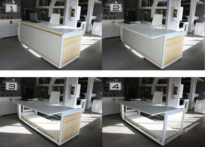 Incredible BedDesk Hybrid Takes Work Naps To A Whole New Level