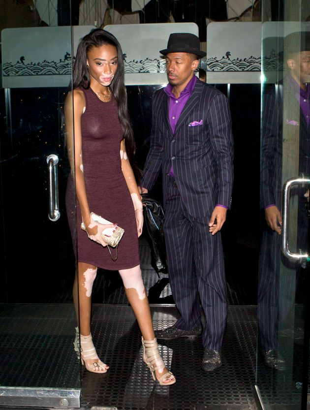 Nick Cannon Steps Out With Rumored New Girlfriend, Winnie ...