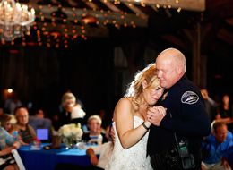 Officers Give Daughter Of Fallen Deputy An Emotional Wedding Surprise