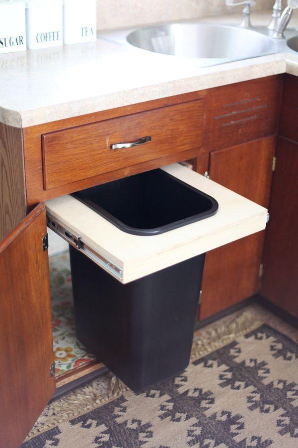 Kitchen Craft Under Sink Garbage With Lid