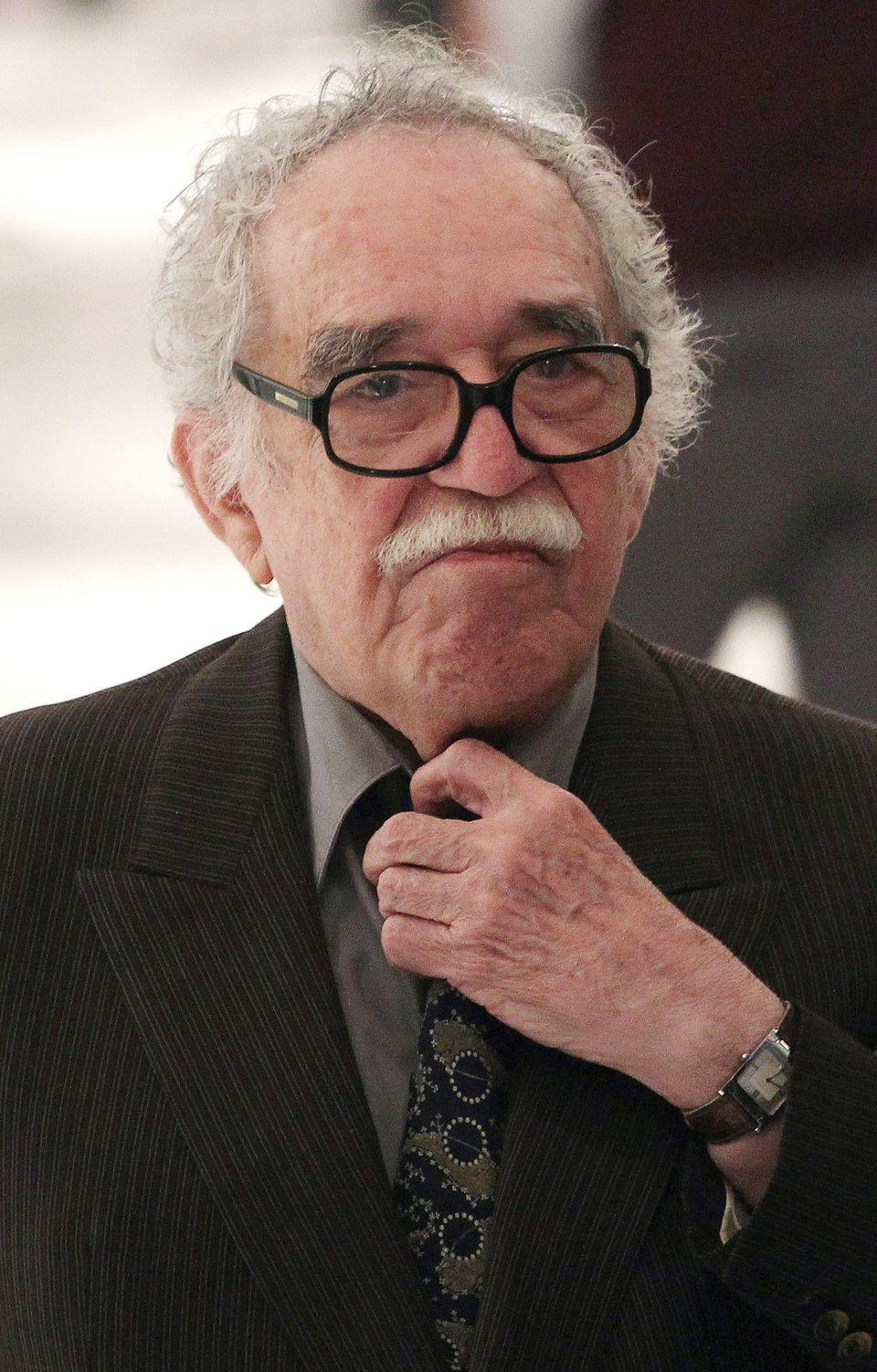 """<a href=""""http://www.voxxi.com/top-8-latino-writers-you-should-know/#ixzz2ZVzKP6Uj"""" target=""""_blank"""">Gabriel Garcia Marquez</a>"""