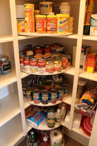 "This is genius. Every pantry can <a href=""http://decorchick.com/the-great-pantry-makeover/"">use the help of one (or 10)<"