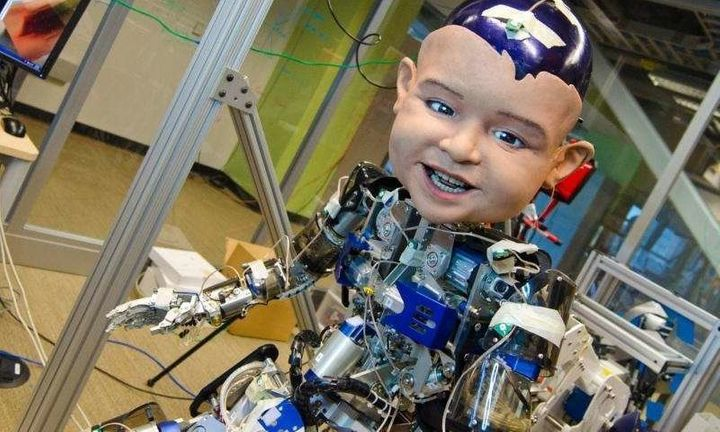 Researchers built a robotic baby to figure out how infants communicate by smiling.