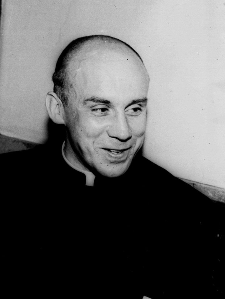 Thomas Merton, a Trappist monk known worldwide as an author and philosopher, is seen in a 1951 photo.