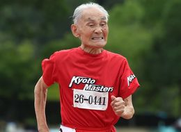 105-Year-Old Japanese Sprinter Breaks A World Record
