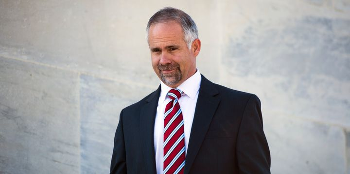 Rep. Tim Huelskamp (R-Kan.), who is Catholic, does not agree with the pope on climate change.