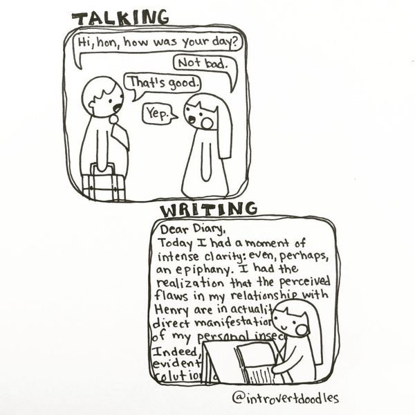 Illustrations That Are All Too Real For Introverts HuffPost - 20 struggles perfectly sum life introvert