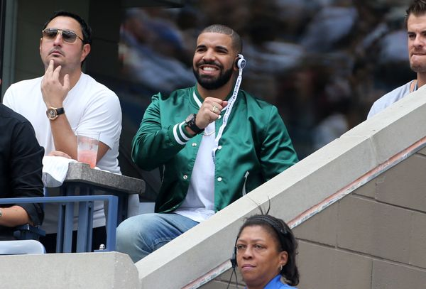 """And she <a href=""""http://www.eonline.com/news/698930/drake-celebrates-the-opening-of-his-restaurant-and-serena-williams-was-th"""