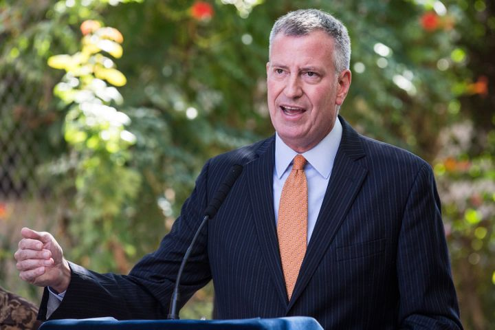 New York City Mayor Bill de Blasio (D) was among the mayors to urge the president to admit more Syrian refugees. (Photo