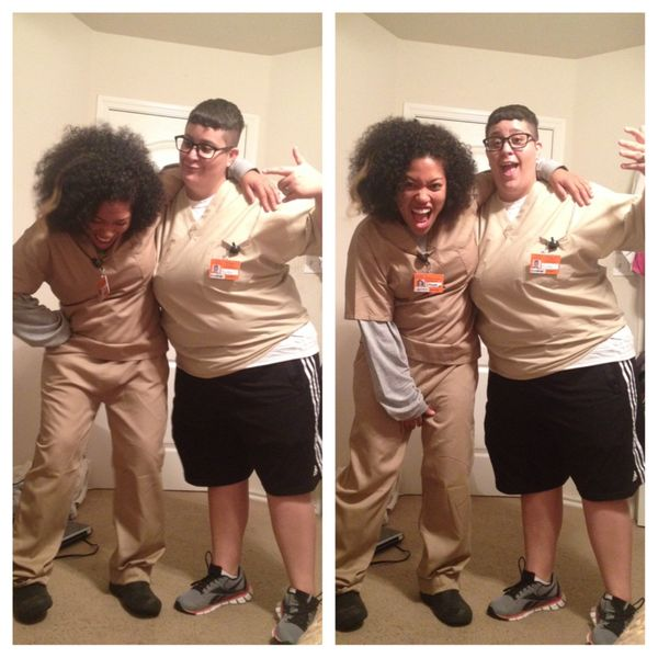 "Carrie ""Big Boo"" Black Costume 