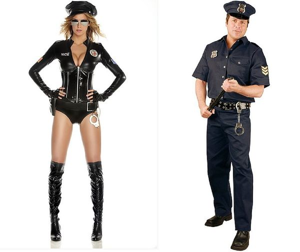 The Difference Between Men S And Women S Halloween Costumes Is Very