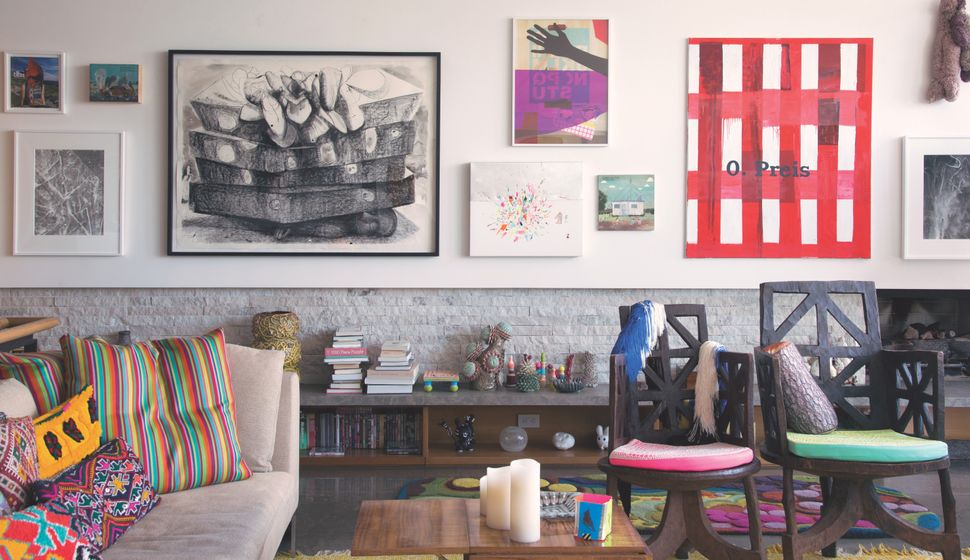 Artists And The Interior Design Arrangements That Make Their Homes Pop