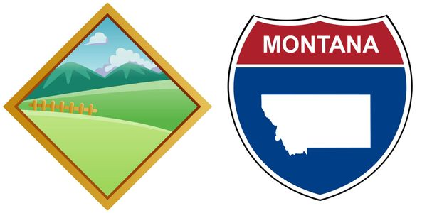 Montaña means mountain in Spanish. Montana is a U.S. state. Here's a fun fact: Montana is a derivation of the Lat