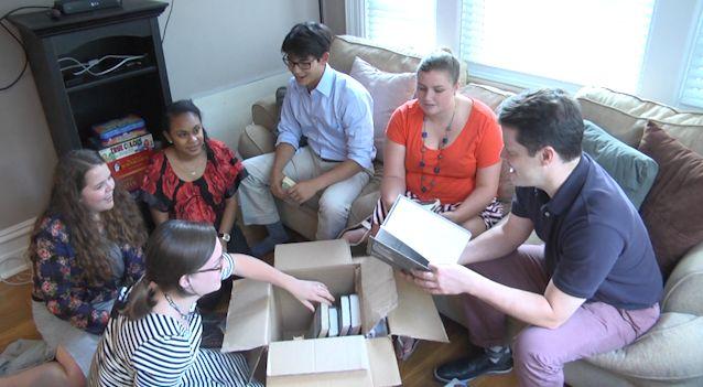 The Duke University TeachHouse fellows.