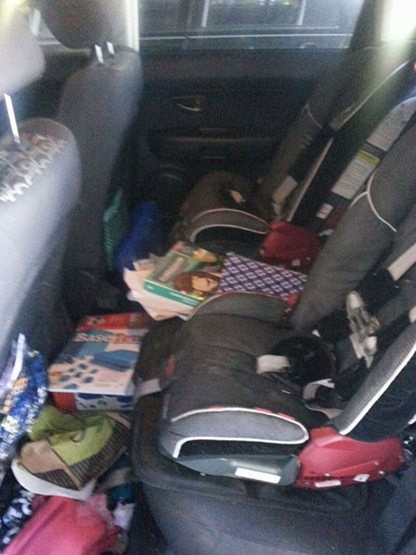 10 messy car backseats that could only belong to parents