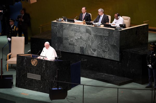 Pope Francis Brings Message Of Peace And Healing To 9/11