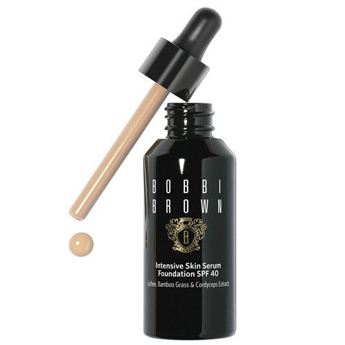 "Bobbi Brown Intensive Skin Serum Foundation SPF40, $62, <a href=""http://www.bobbibrowncosmetics.com/product/14017/35675/"
