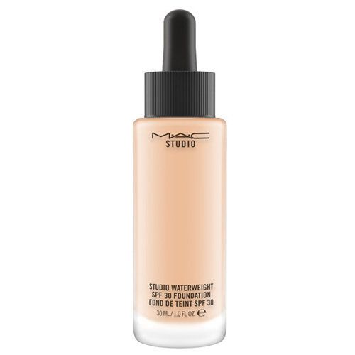 "MAC Studio Waterweight SPF30 Foundation, $33, <a href=""https://www.maccosmetics.com/product/13847/37094/Products/Makeup/"