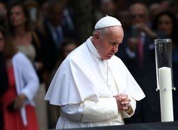 Pope Francis Brings Message Of Peace And Healing to 9/11 Memorial