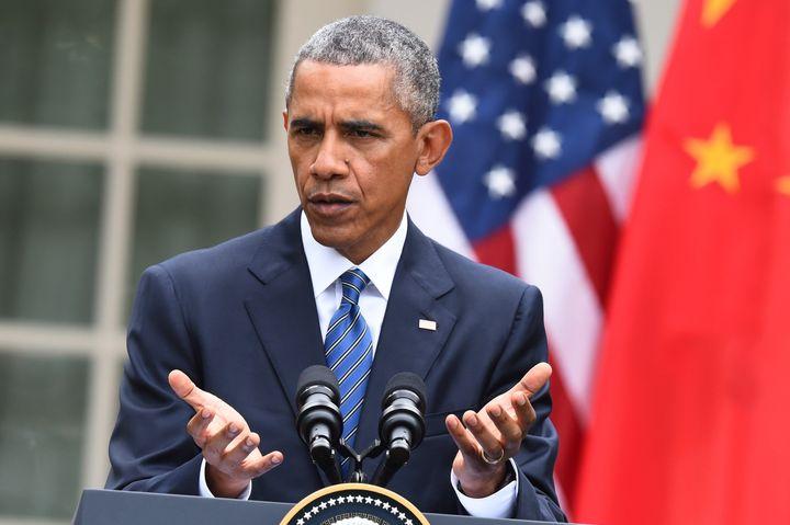 Obama reacted to Boehner's resignation Friday.