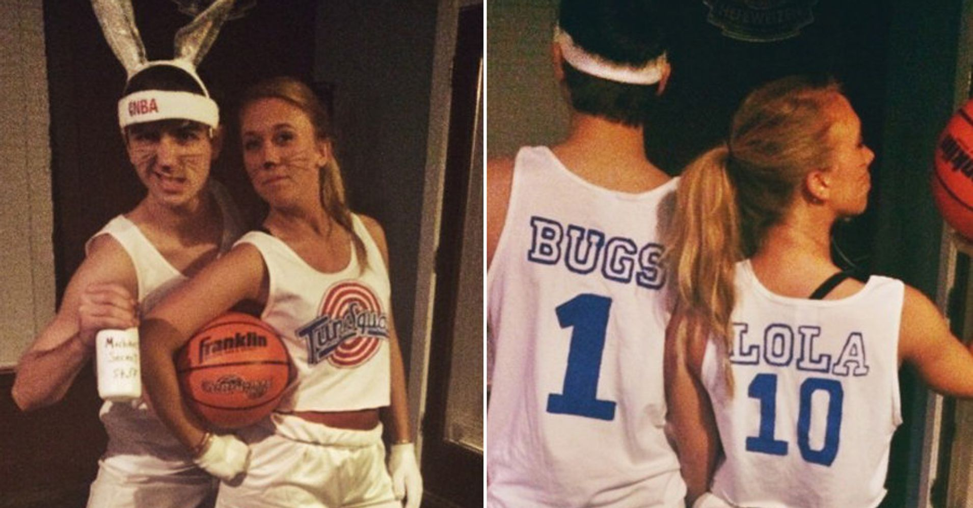 20 halloween costumes for couples that won 39 t make you roll - Disfraces caseros originales ...