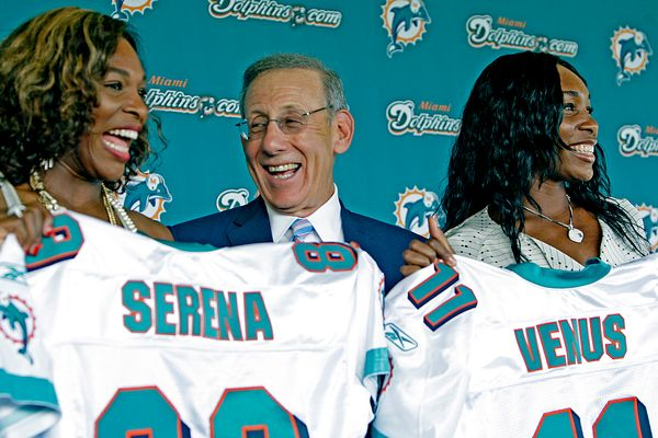 In 2009, both Serena and Venus became minority owners of Miami's football franchise, making them the first black women to hol