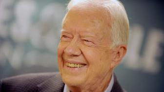 Photo by: Dennis Van Tine/STAR MAX/IPx 7/7/15 Jimmy Carter at a signing for his new book, A Full Life. (Barnes and Noble, NYC)