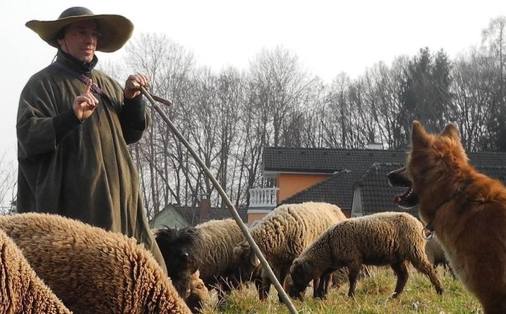 Hans Breuer, a Jewish shepherd and folk singer, says he was moved to help refugees cross the Hungarian border into Austria be