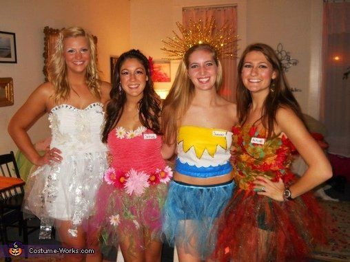 "Winter, Spring, Summer, Fall. Find a group of four and get creative.<br><br><a href=""http://www.costume-works.com/four_season"