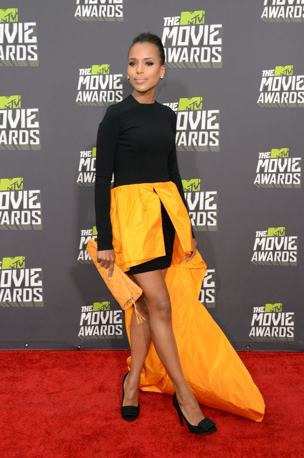 At the MTV Movie Awards on April 14
