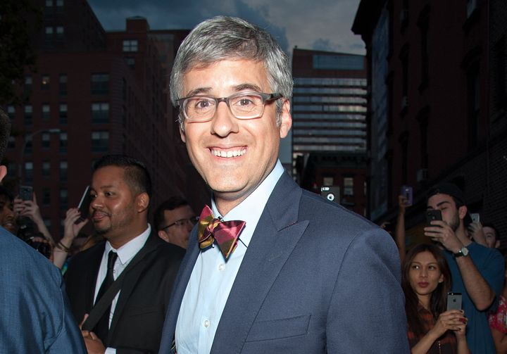 Mo Rocca, an openly gay TV reporter and comic, read from the Bible at Pope Francis' Mass at Madison Square Garden in New York