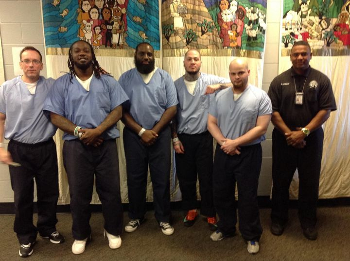 These are some of the inmates who will meet with Pope Francis on Sunday.