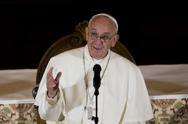 Pope Francis met privately with survivors of sexual abuse at St. Charles Borromeo Seminary on Sunday morning. <br><br>Re
