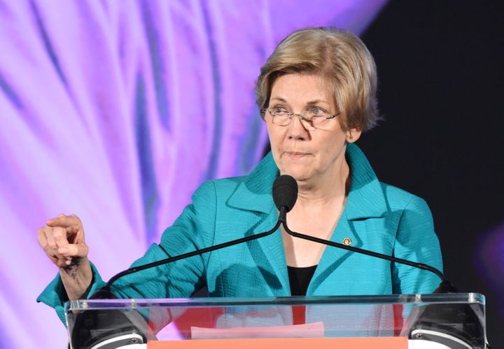 Sen. Elizabeth Warren spoke Sunday about three major areas in which black people still face injustice.