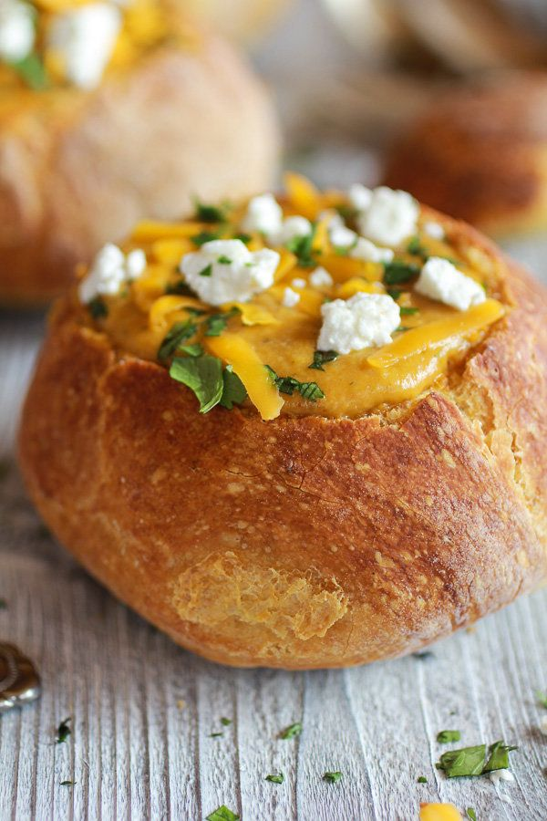 """<strong>Get the <a href=""""http://www.halfbakedharvest.com/curried-butternut-squash-broccoli-cheddar-goat-cheese-soup/"""" target="""
