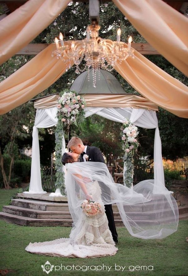 """""""Wendy and Anthony's wedding at Elmwood Garden."""" - Gemma Duran"""