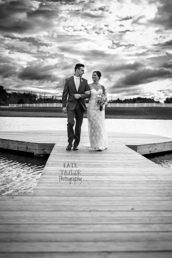 """""""Shannen and Matt were married September 26 in a beautiful ceremony at Grace Meadows Farm in Jonesborough, Tennessee."""" - Kate"""