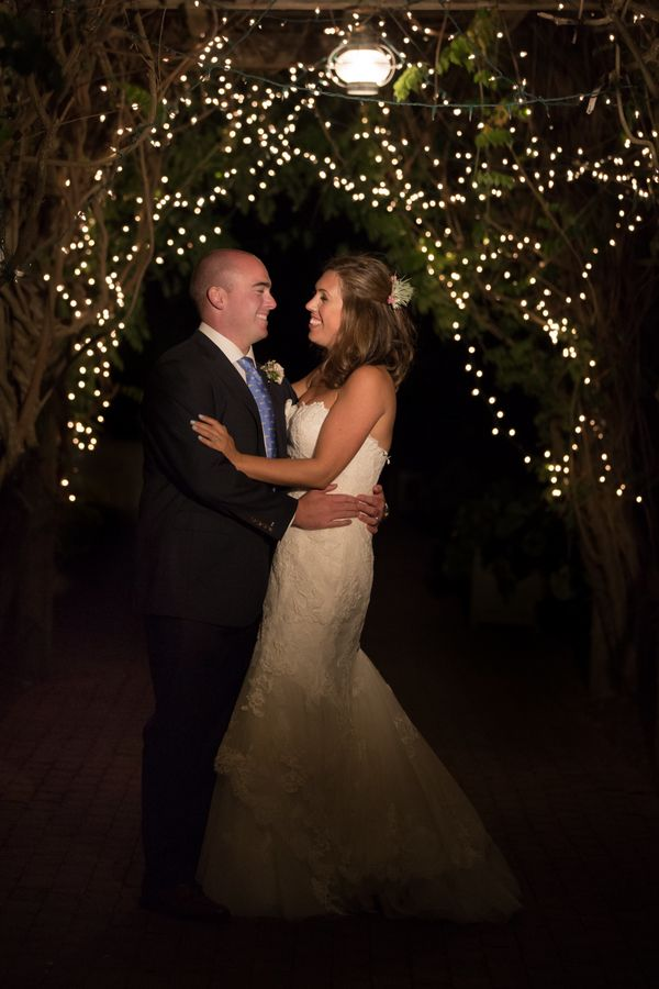"""""""Emily and Jack Martin married on Nantucket at The Westmoor Farm. A favorite from their evening portraits."""" - Katie Kaizer"""