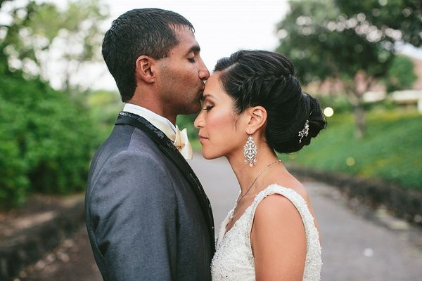 """""""Angie and Pratik were married in a beautiful outdoor ceremony in Hawaii."""" - Marie Kubin of Rent My Wedding"""