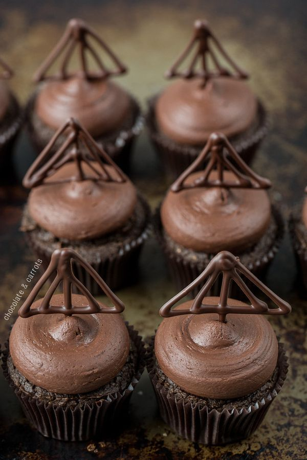 "<strong>Get the <a href=""http://chocolateandcarrots.com/2014/03/healthier-triple-chocolate-cupcakes"" target=""_blank"">Triple C"