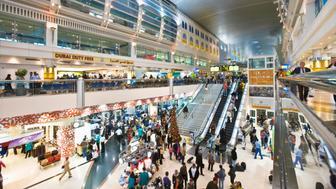 Dubai International Airport, the interior