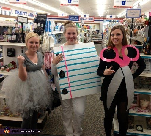 18 best friend halloween costumes that are totally adorkable huffpost all paper and scissors need is some cardboard and light craftiness rock can either wear costume works solutioingenieria Images